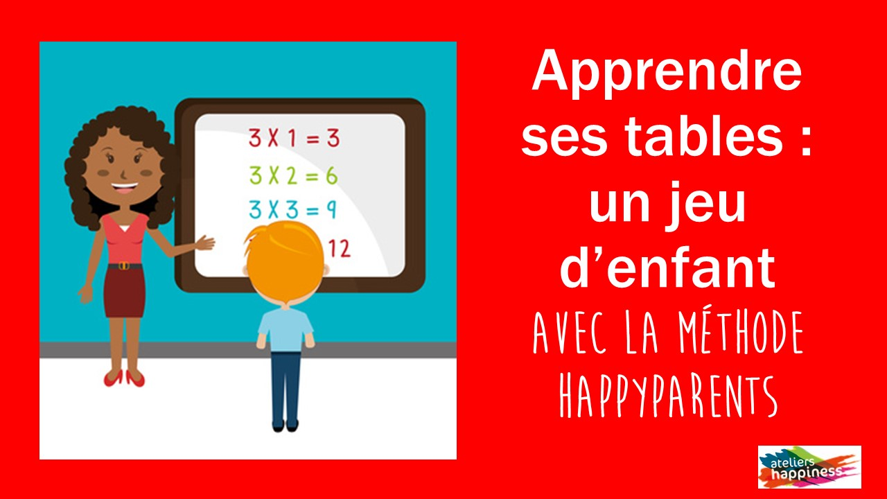 Apprendre ses tables de multiplication happiness - Comment apprendre la table de multiplication ...